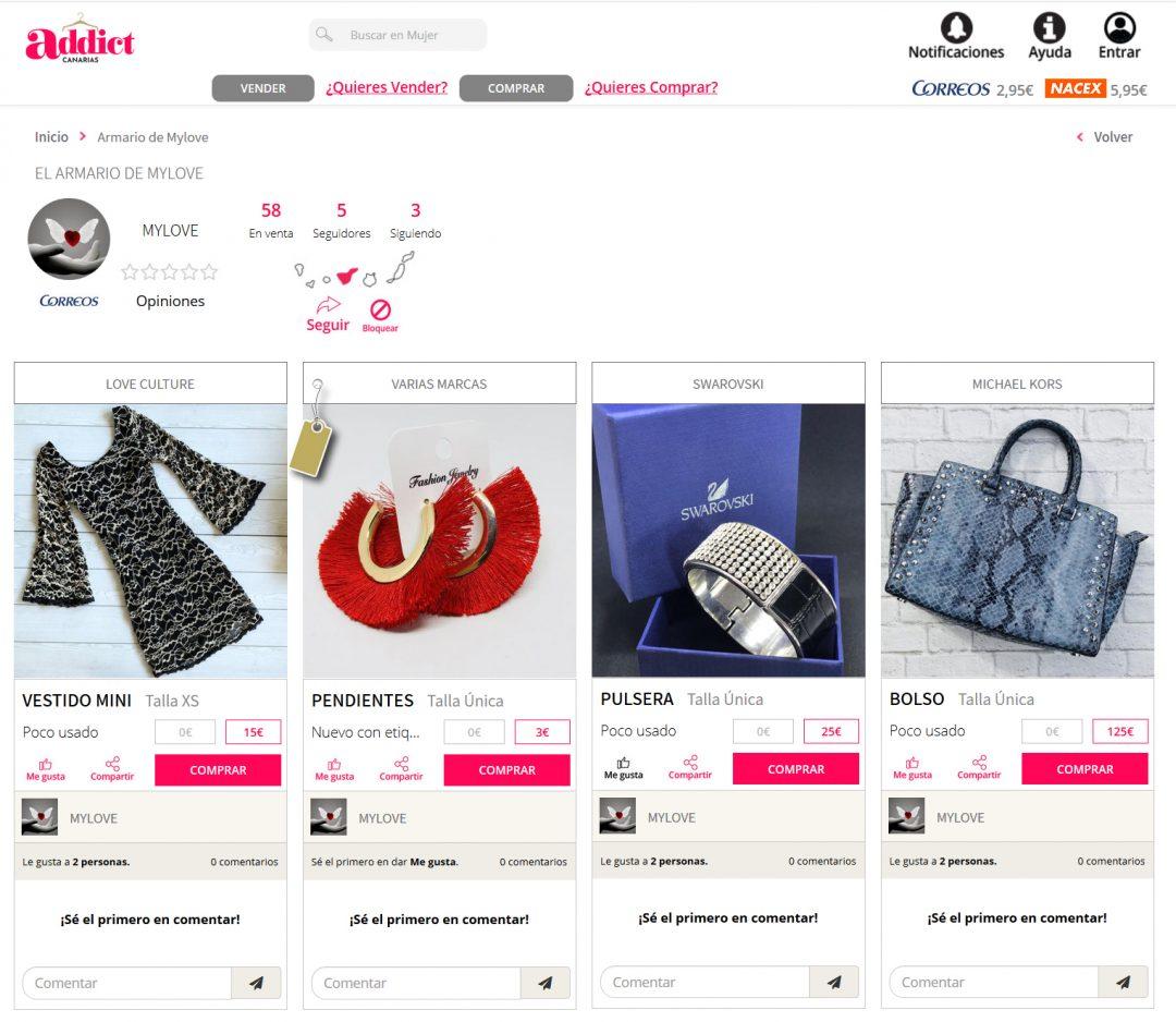 La Primera Tienda De Ropa Online En Canarias Para L S Adict S A La Moda