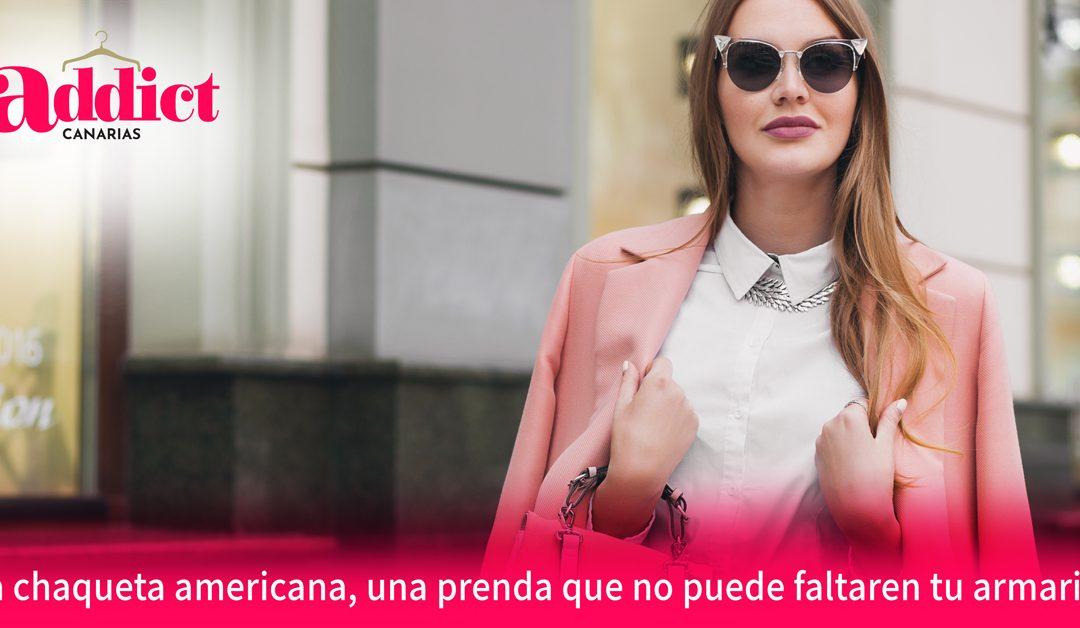chaqueta americana de mujer